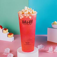 清甜蜜桃冰冰茶